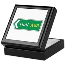 Hull Roadmarker, UK Keepsake Box