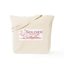 BUTTERFLIES - soldier Tote Bag