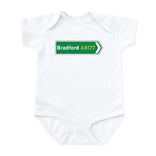 Bradford Roadmarker, UK Infant Bodysuit
