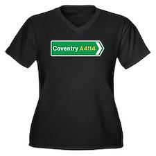 Coventry Roadmarker, UK Women's Plus Size V-Neck