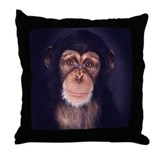 Unique Monkey Throw Pillow