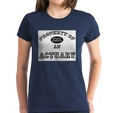 Property of an Actuary Tee