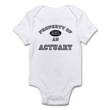 Property of an Actuary Infant Bodysuit
