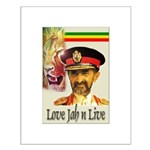 love JAH JAH Small Poster