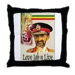 love JAH JAH Throw Pillow
