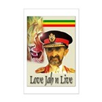 love JAH JAH Mini Poster Print