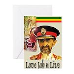 love JAH JAH Greeting Cards (Pk of 10)
