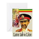 love JAH JAH Greeting Card