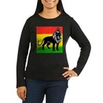 KING OF KINGZ Women's Long Sleeve Dark T-Shirt