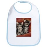 Maine Coon Kittens Bib
