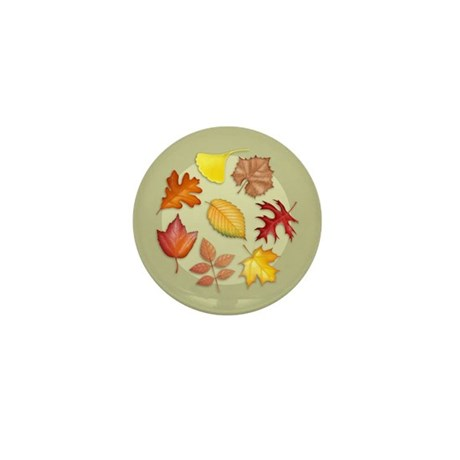 Leaves Mini Button (10 pack)