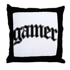 Gamer GTA Style Throw Pillow