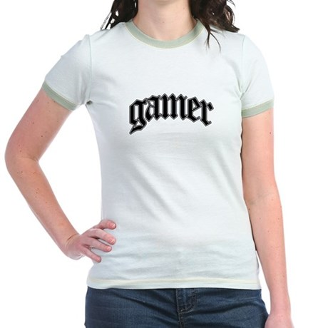 Gamer GTA Style Jr. Ringer T-shirt