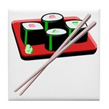 California Roll Sushi Tile Coaster