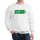 Cardiff Roadmarker, UK Sweatshirt