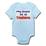 My Dad is a Triathlete Infant Creeper