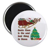 "Santa Claus vs Nonna 2.25"" Magnet (10 pack)"