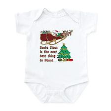 Santa Claus vs Nonna Infant Bodysuit