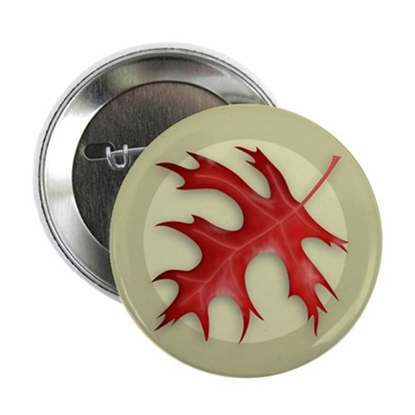 "Pin Oak Leaf 2.25"" Button (100 pack)"
