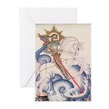 St. George Greeting Cards (Pk of 20)