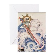 St. George Greeting Card