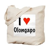 I love Olongapo Tote Bag