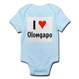 I love Olongapo Infant Bodysuit