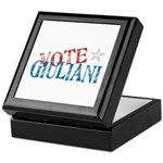 Vote Giuliani President 2008 Elect Keepsake Box