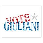 Vote Giuliani President 2008 Elect Small Poster
