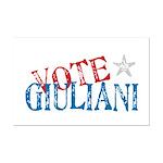 Vote Giuliani President 2008 Elect Mini Poster Pri