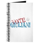Vote Giuliani President 2008 Elect Journal