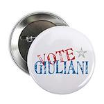 Vote Giuliani President 2008 Elect Button