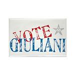 Vote Giuliani President 2008 Elect Rectangle Magne