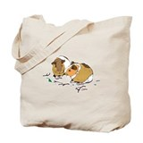Cute Little Guinea Pigs Tote Bag
