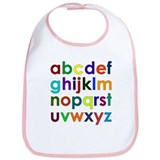 Colorful Alphabet Bib