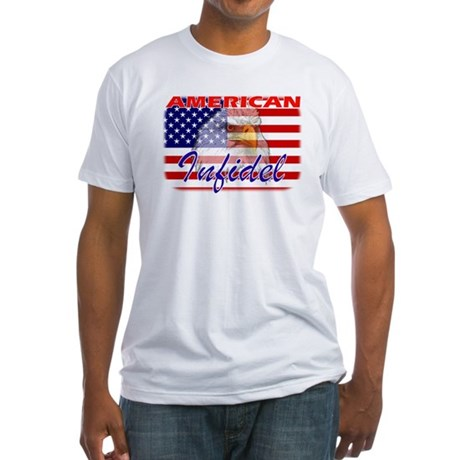 American Infidel Fitted T-Shirt