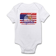 American Infidel Infant Creeper