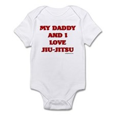 MY DADDY AND I LOVE JIU-JITSU Infant Bodysuit