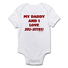 MY DADDY AND I LOVE JIU-JITSU Onesie