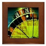 Roulette Framed Tile