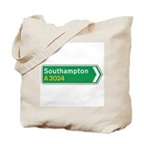 Southampton Roadmarker, UK Tote Bag