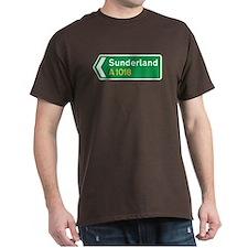 Sunderland Roadmarker, UK T-Shirt