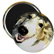 "Unique Borzoi 2.25"" Magnet (10 pack)"