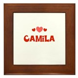 Camila  Framed Tile