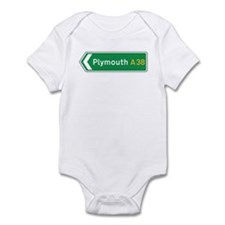 Plymouth Roadmarker, UK Infant Bodysuit