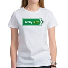 Derby Roadmarker, UK Tee