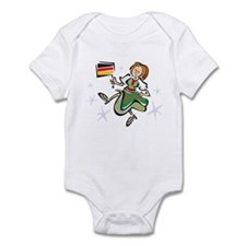 Dancing German Lady Infant Bodysuit