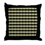 Little Yellow Flowers Throw Pillow