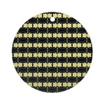 Little Yellow Flowers Ornament (Round)