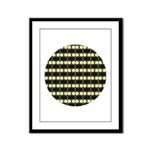 Little Yellow Flowers Framed Panel Print